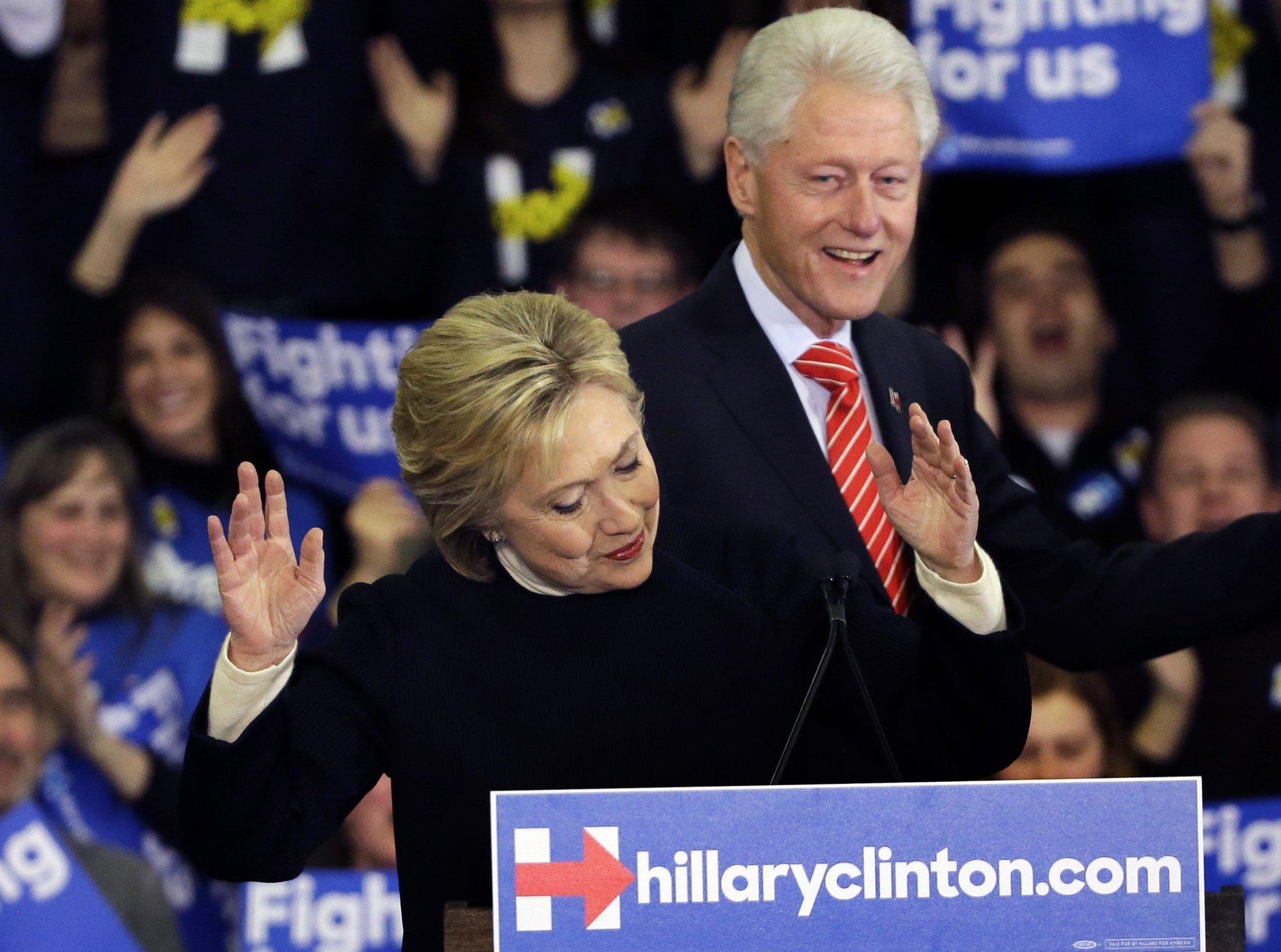Hillary clinton and bill clinton yale