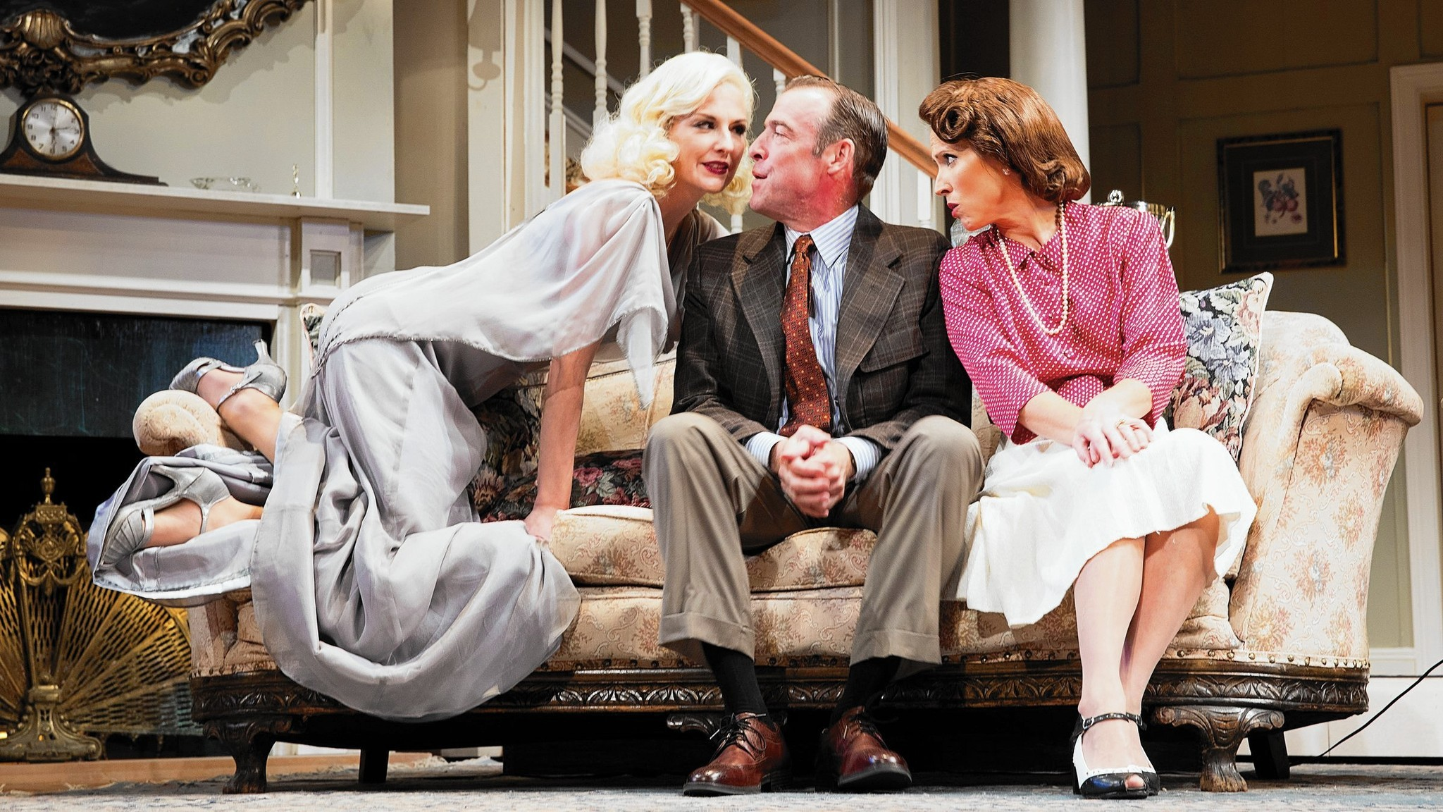 a comical review of noel cowards novel blithe spirit Who will put on noel cowards' blithe spirit at ramsey lodge  the almost comical bickering amongst the cast members,  review by suraya dewing the scarlet wench.