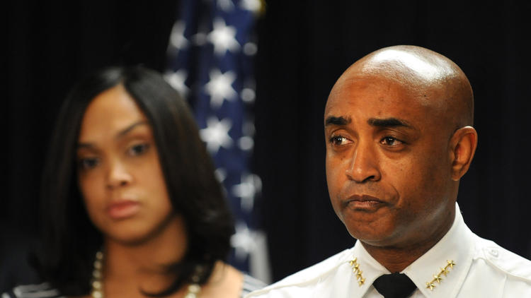 Anthony Batts and Marilyn J. Mosby