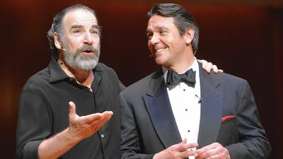 Multi-talented Mandy Patinkin, opera baritone Nathan Gunn come to Ferguson Center