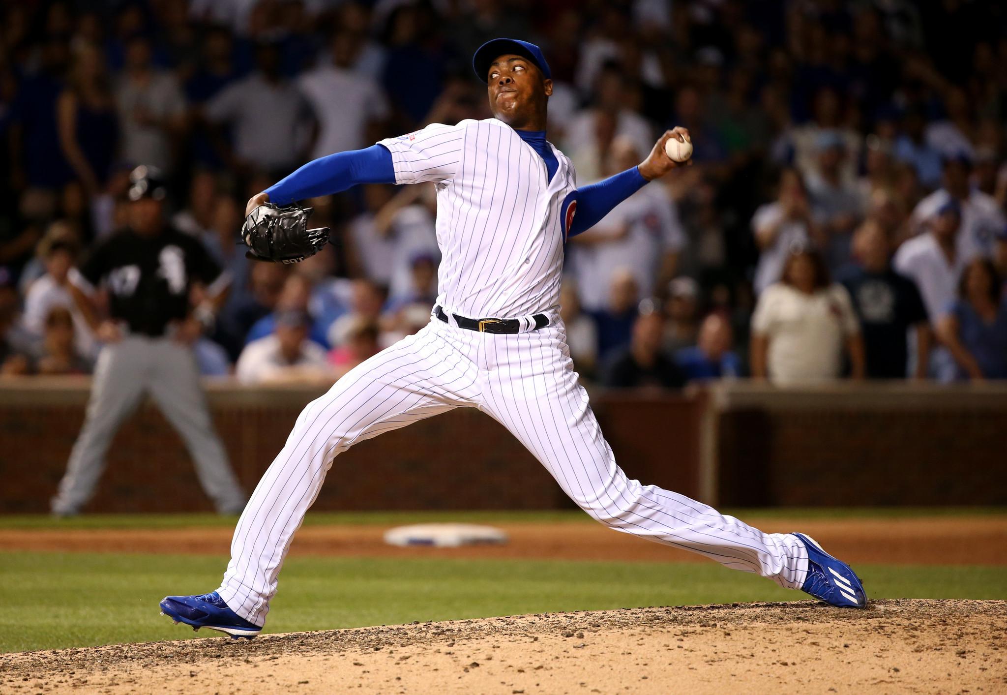Cubs pitcher Aroldis Chapman: a math problem in a baseball uniform ...