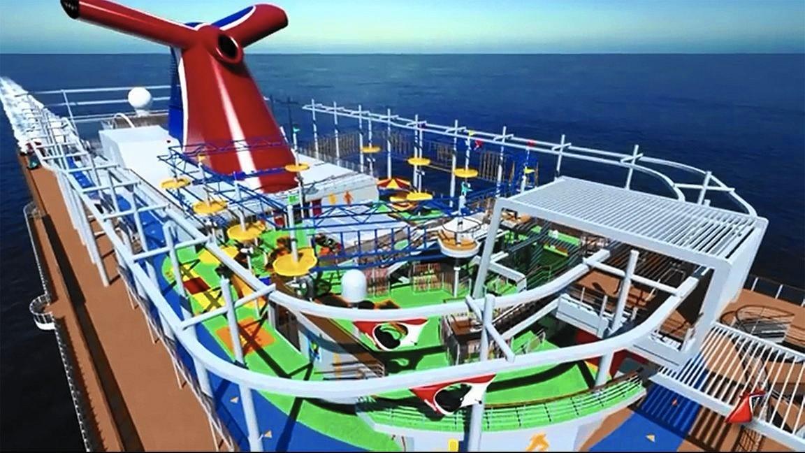 Carnival Cruise Line Names New Ship Carnival Horizon Orlando Sentinel
