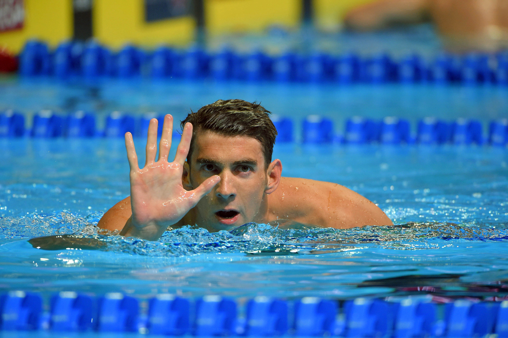 Michael Phelps Finally At Peace With Swimming Himself Baltimore Sun