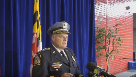 Baltimore County news conference on barricade shooting
