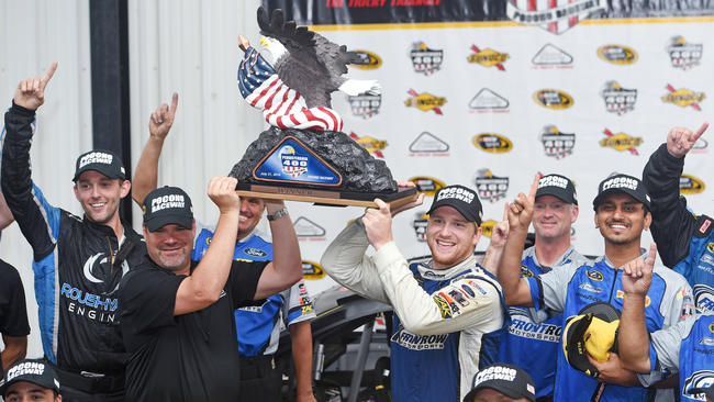 Image result for chris buescher win