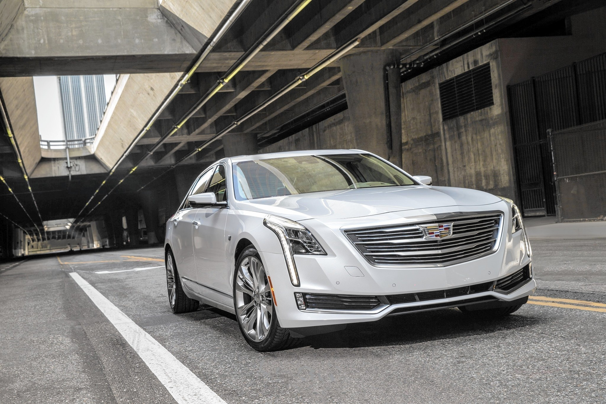 2016 Cadillac CT6 Flagship Sedan Is American Luxury Understated But Loaded