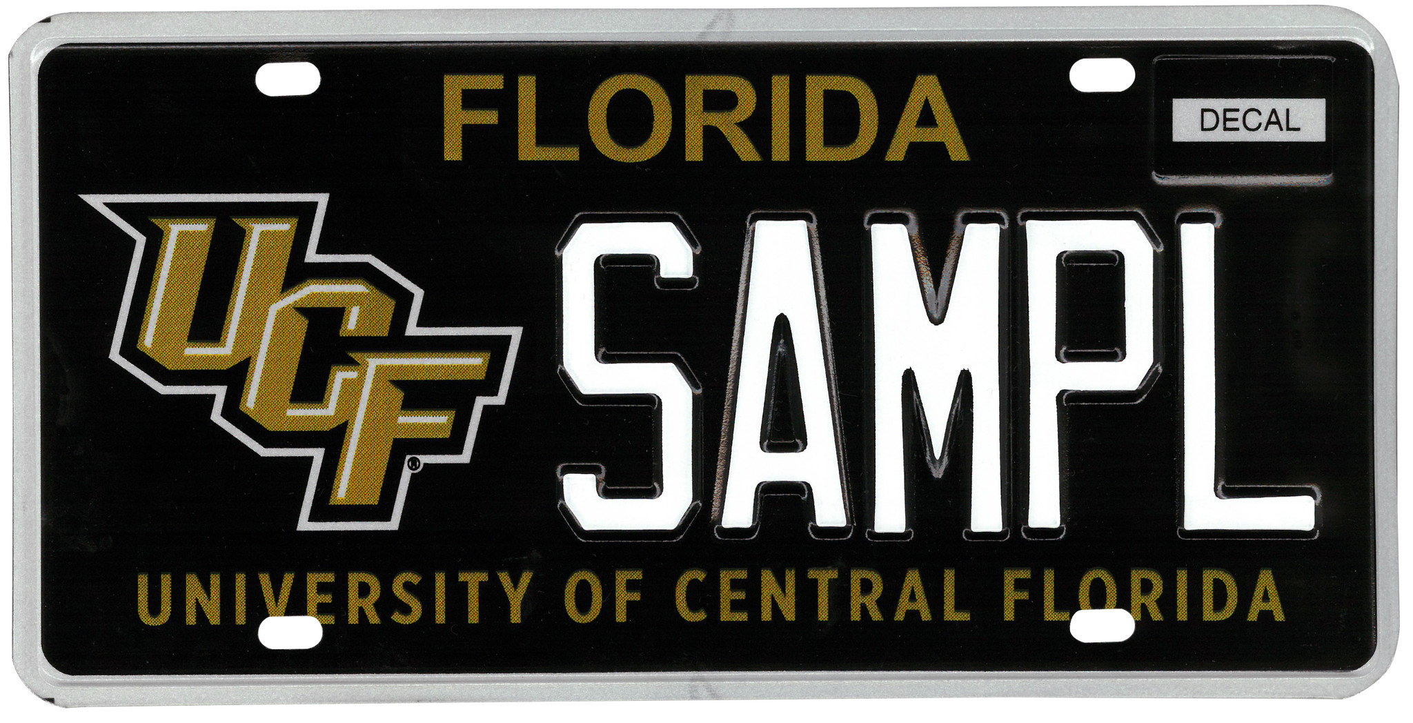 New ucf license plate goes on sale this week orlando for Department of motor vehicles orlando fl