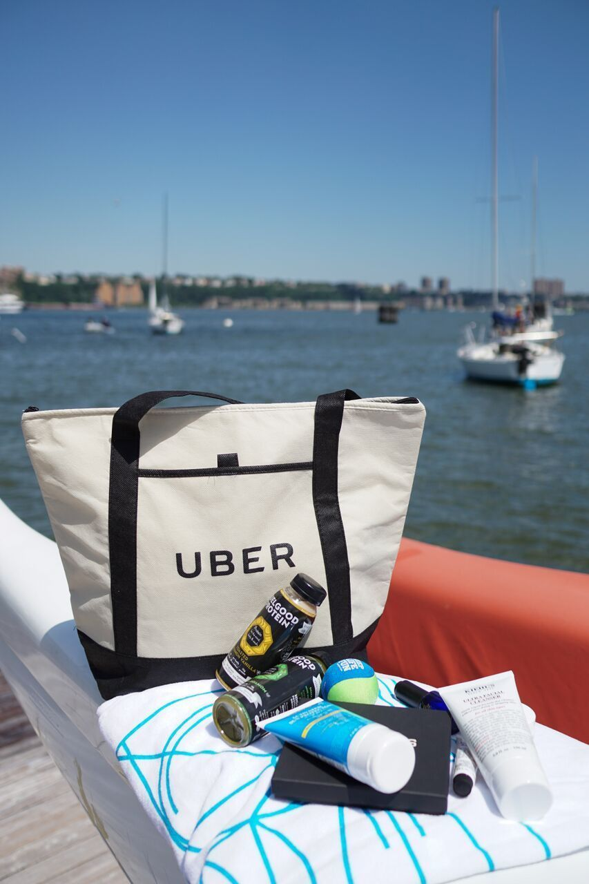 Uber Delivering Free Beach Bags