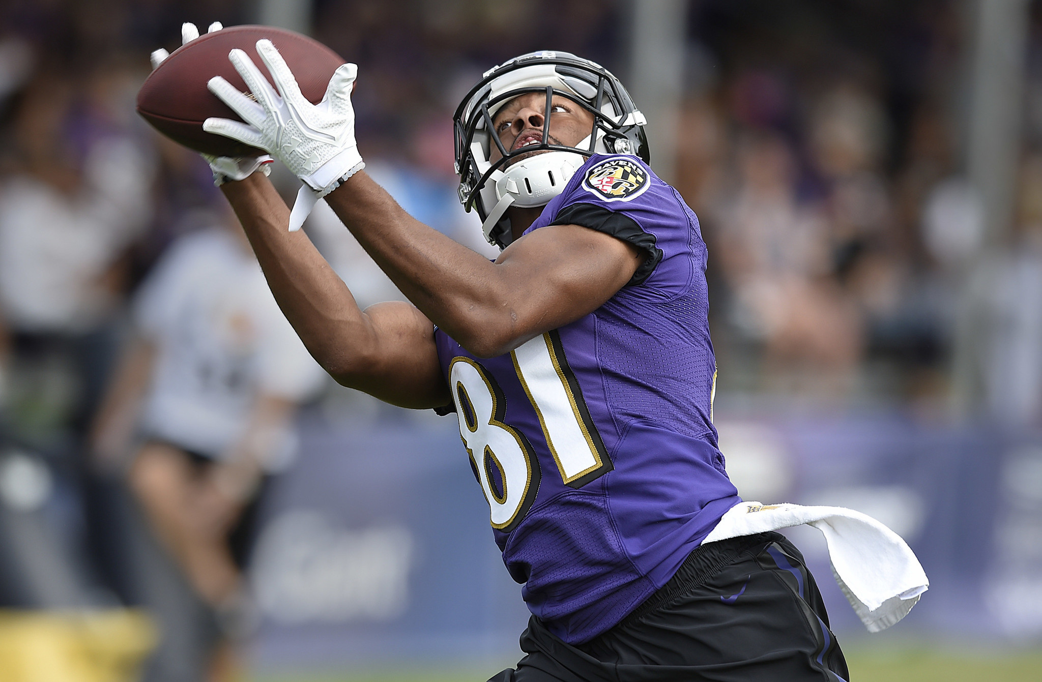 One day as free agent was 'nerve-wracking' for Keenan Reynolds before returning to Ravens