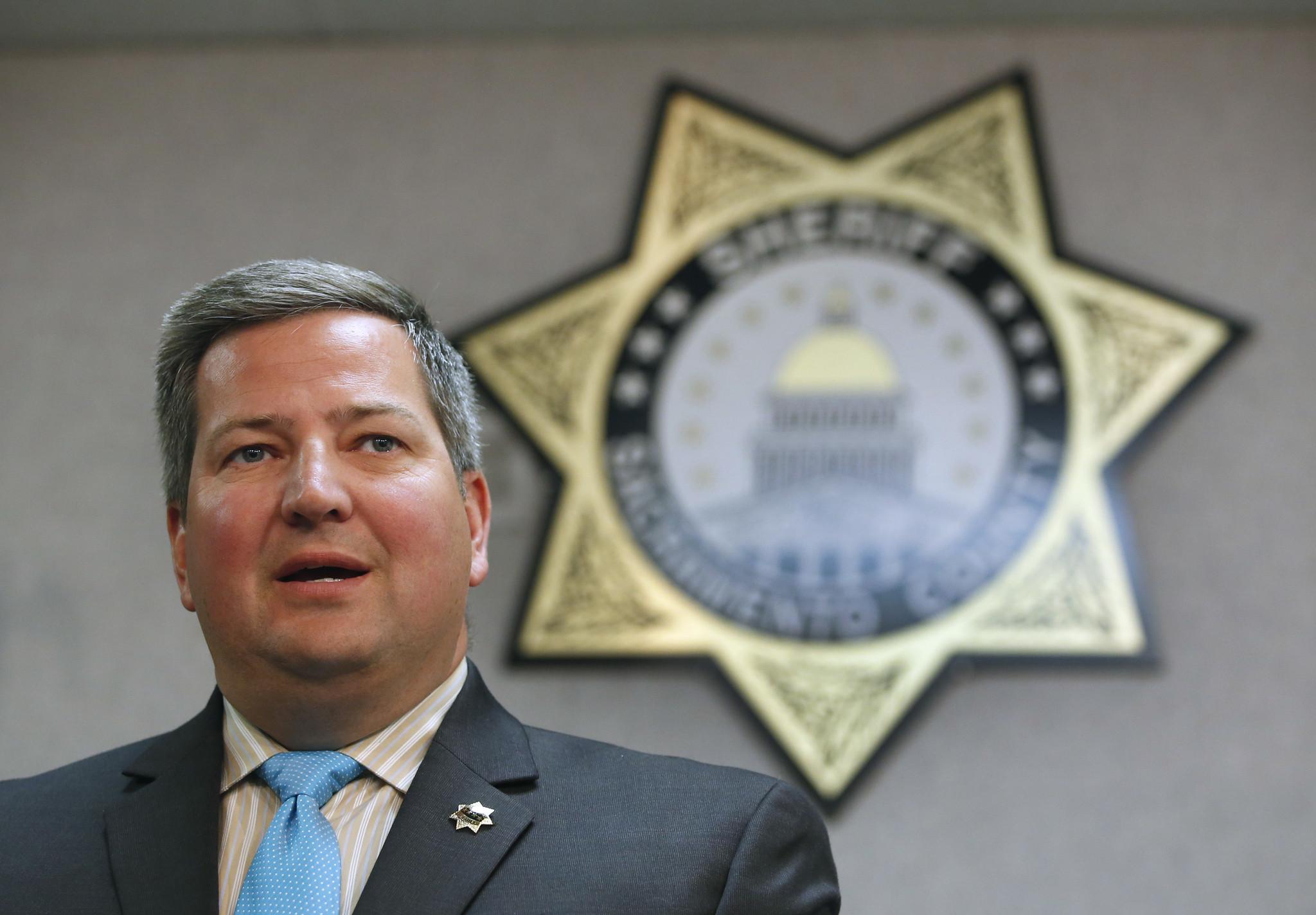 Sacramento County Sheriff Scott Jones (Rich Pedroncelli / AP)