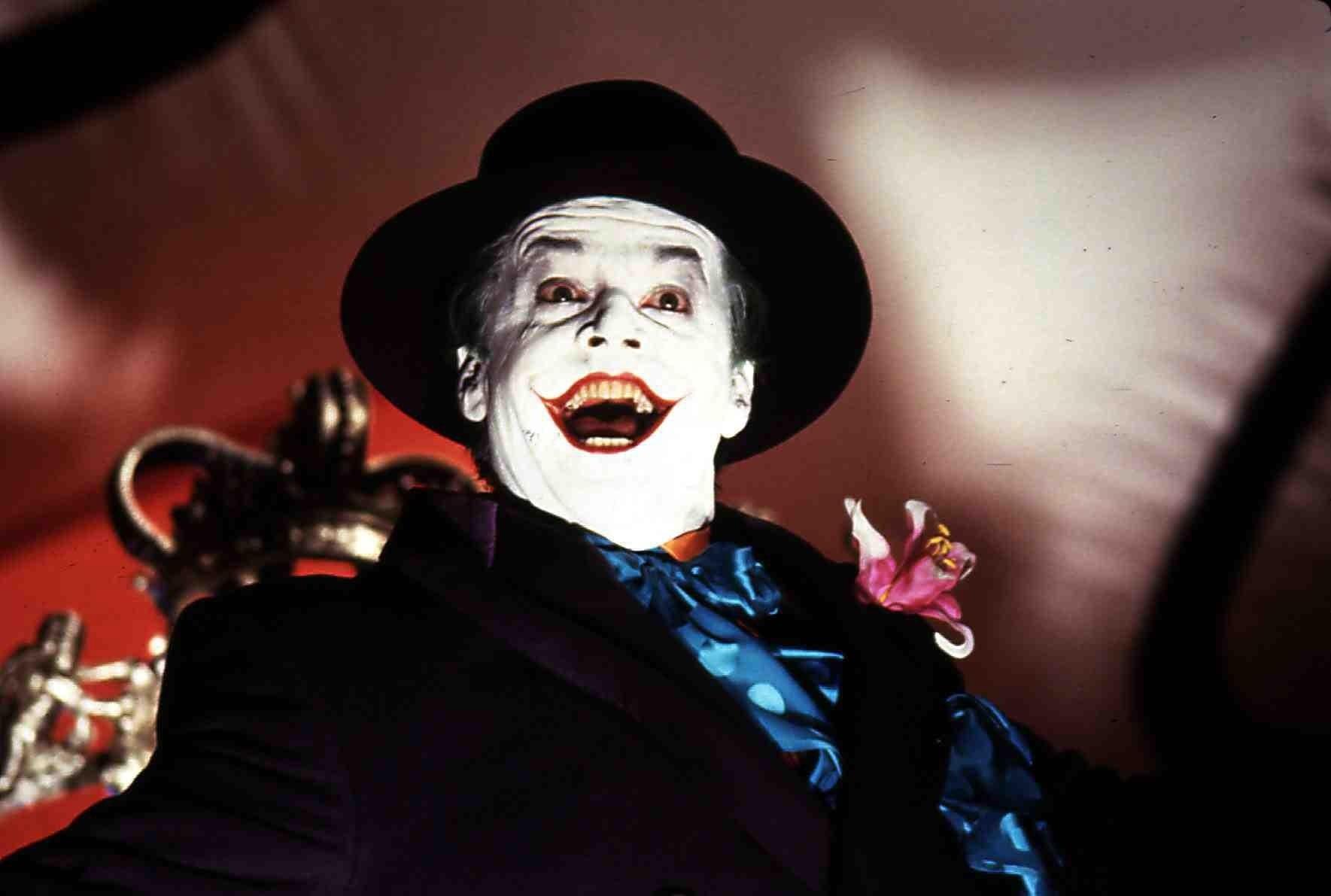 """Jack Nicholson as the Joker in """"Batman."""""""