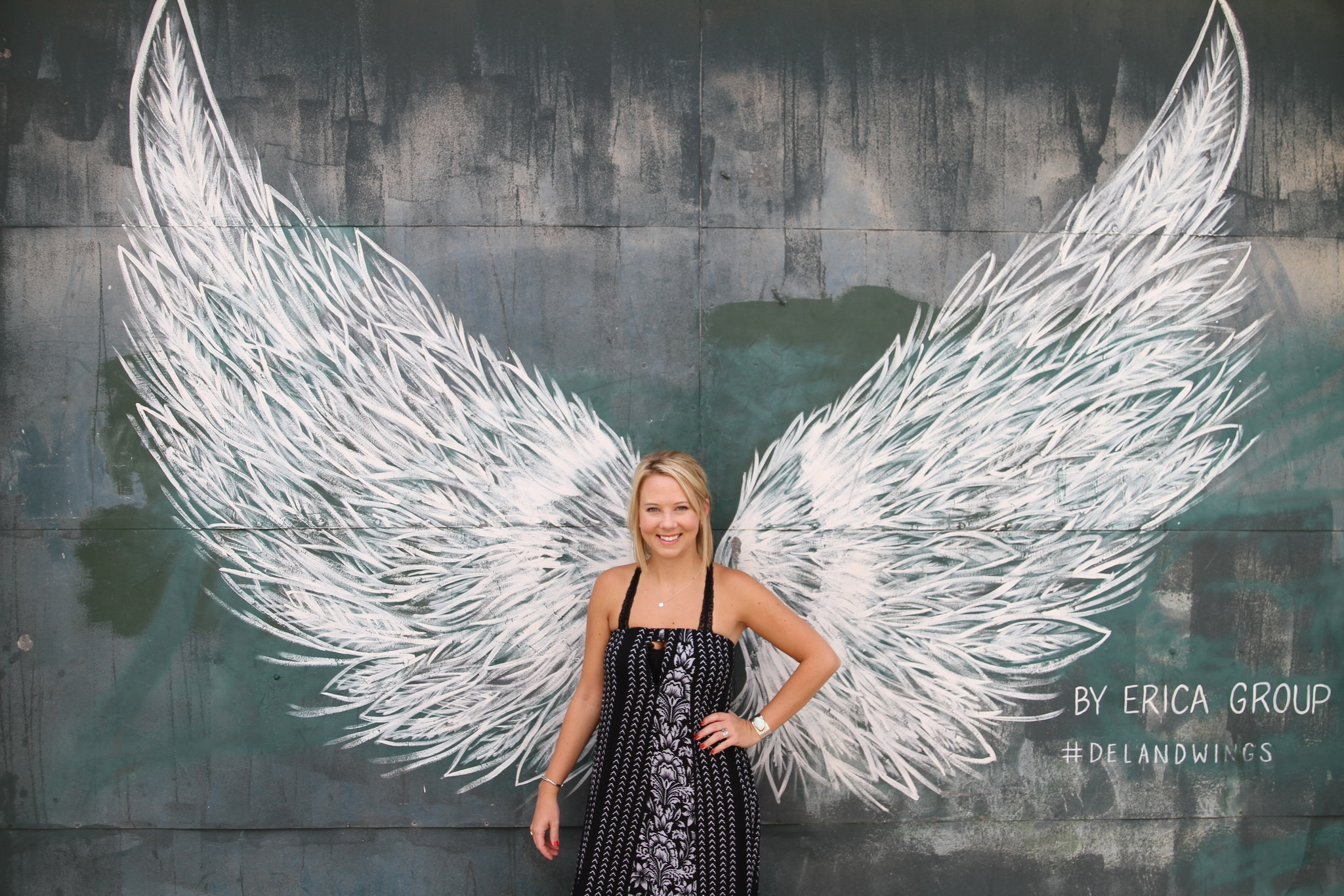 Giant Wings Make DeLand An Instagram Icon
