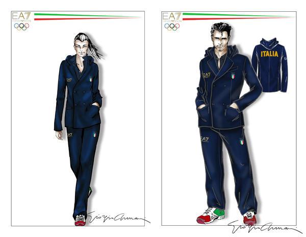 Giorgio armani sketches
