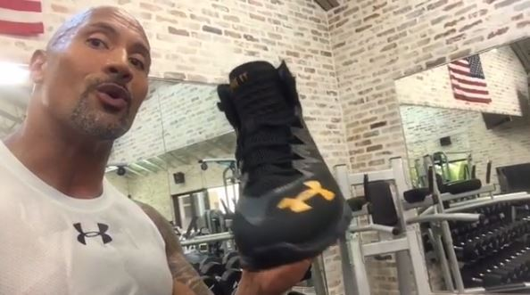 Dwayne 'The Rock' Johnson introduces new sneaker