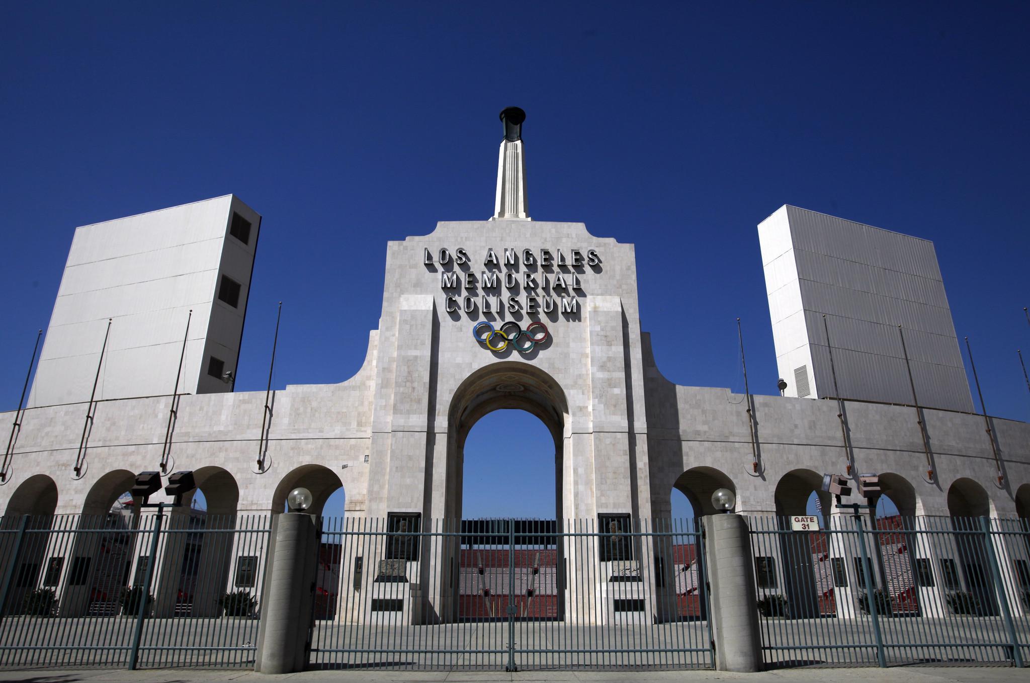 L A Coliseum Scandal La Times