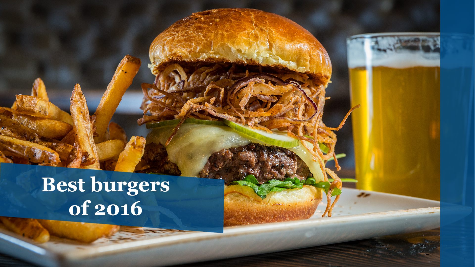 The best burgers in Chicago of 2016 - Chicago Tribune