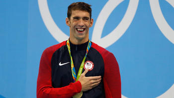 Michael Phelps 18 Gold Medals