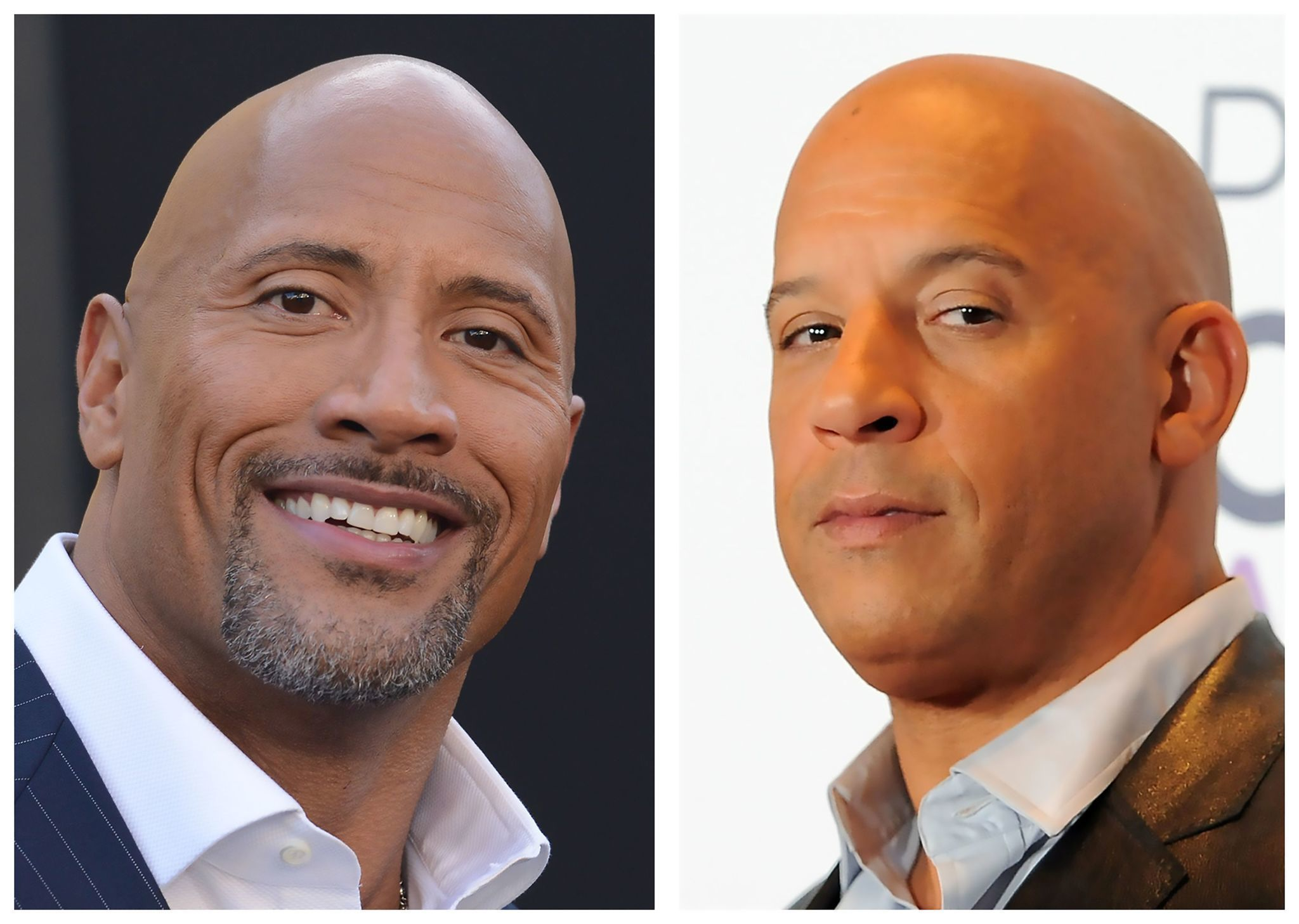 fast 8 feud heats up as dwayne johnson and vin diesel reportedly face off la times