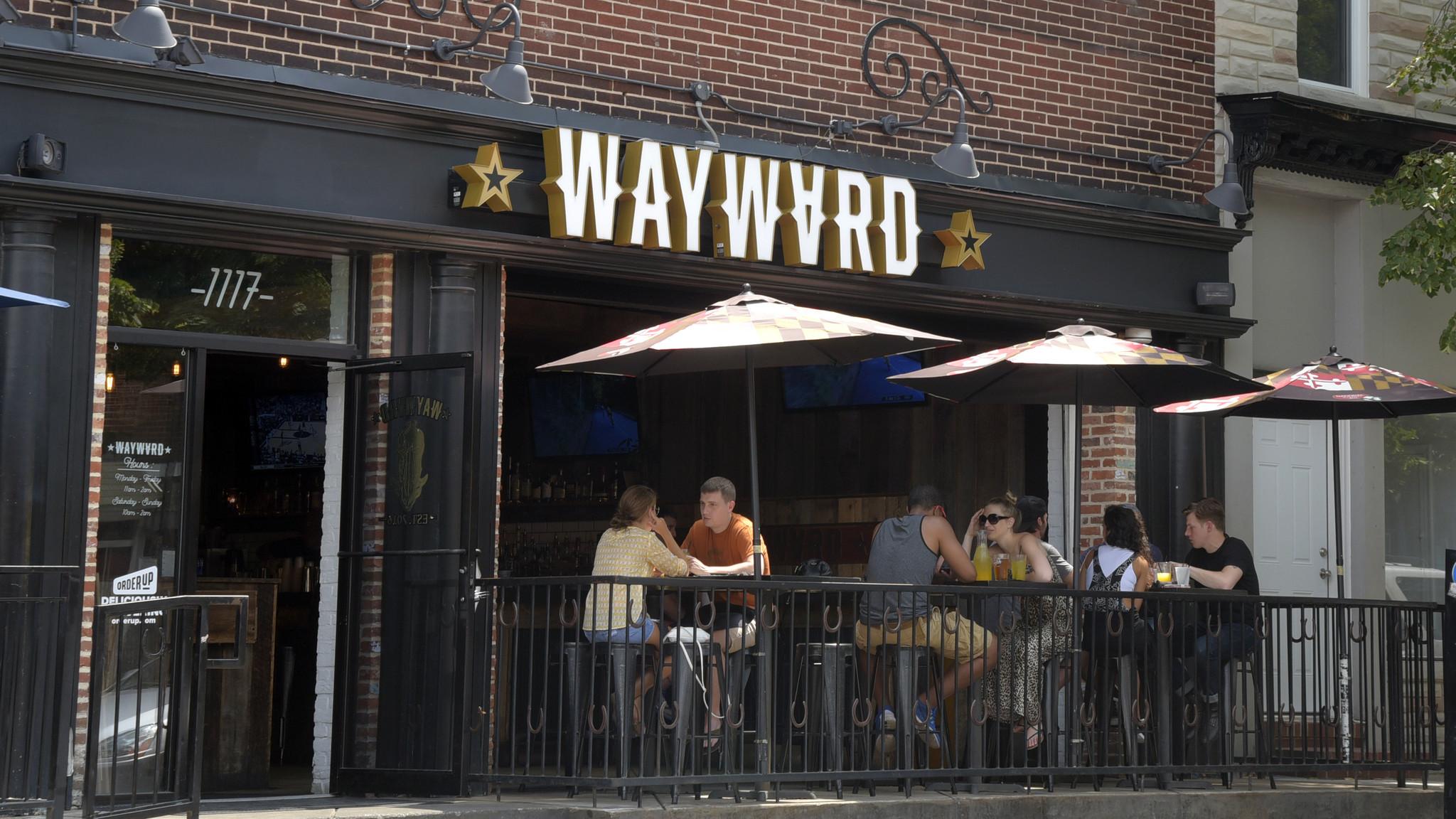 Wayward Southern Bar And Kitchen Baltimore