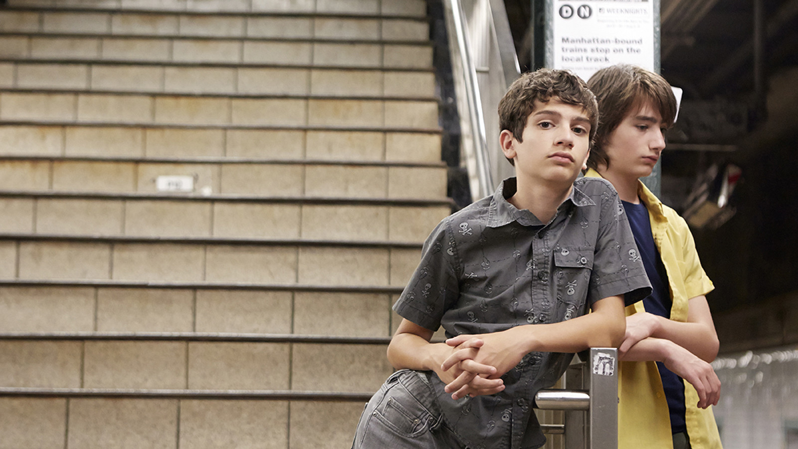 Michael Barbieri and Theo Taplitz star in 'Little Men'