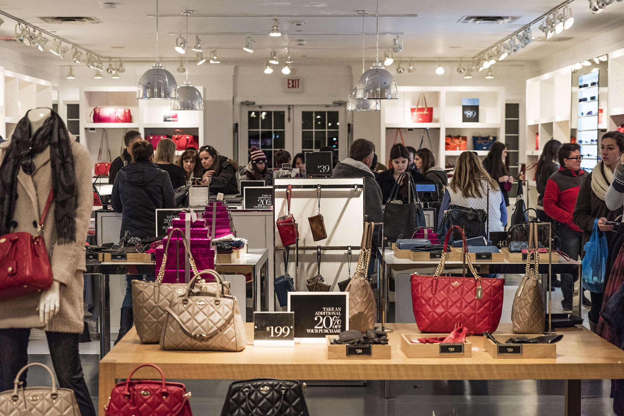 coach store outlet mall 80sn  Coach and Michael Kors deliver another blow to department stores