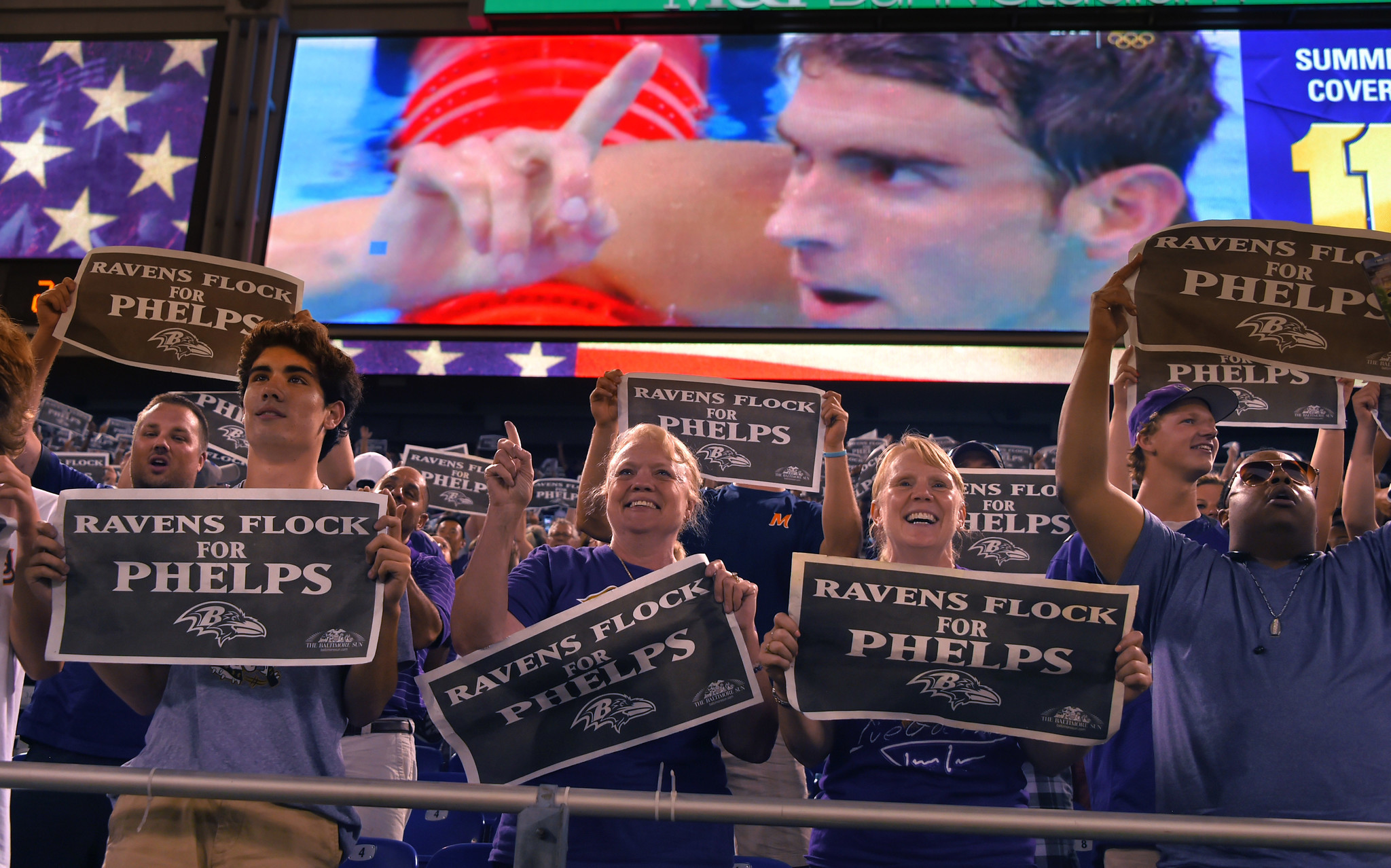 Bal-ravens-fans-watch-phelps-win-and-phelps-keeps-tabs-on-the-ravens-20160811