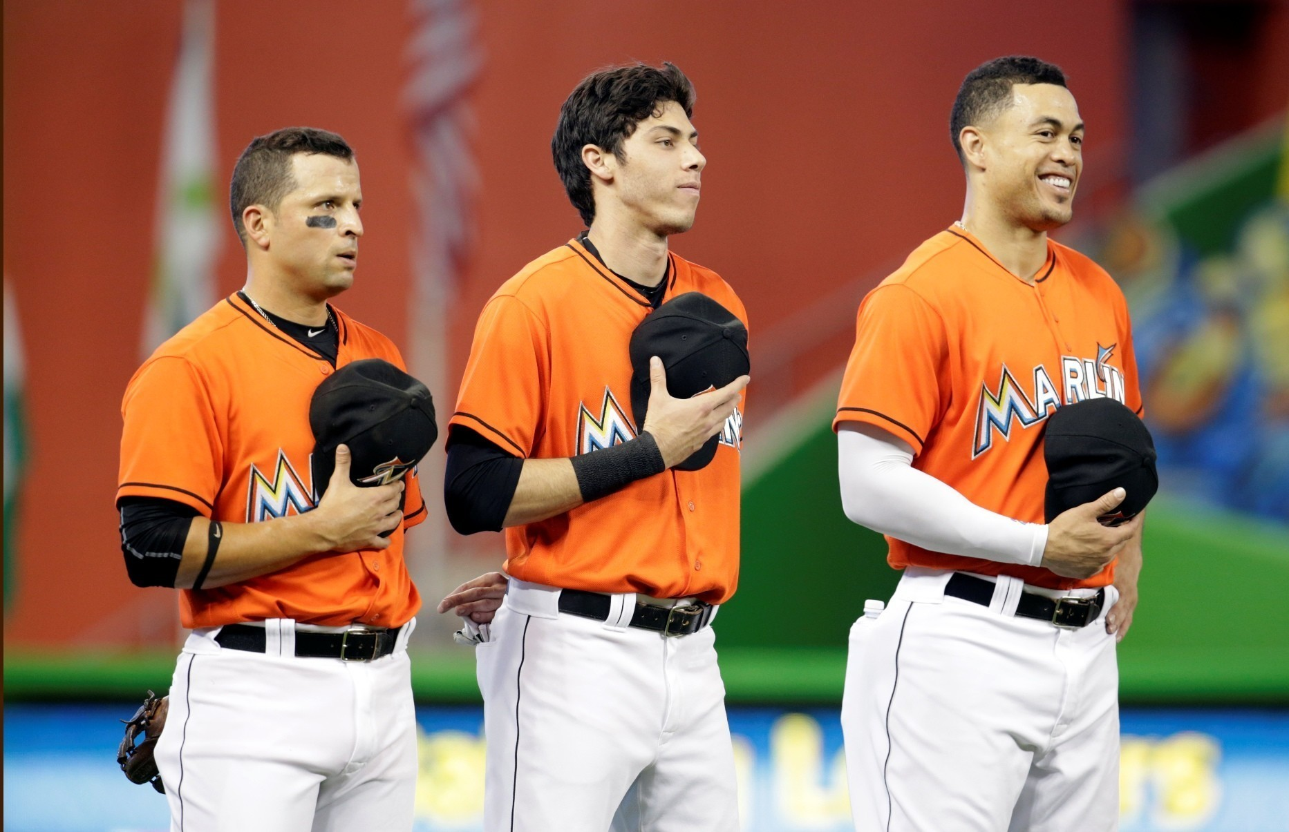 Prado Yelich Potent 1 2 Punch For Marlins Offense Among