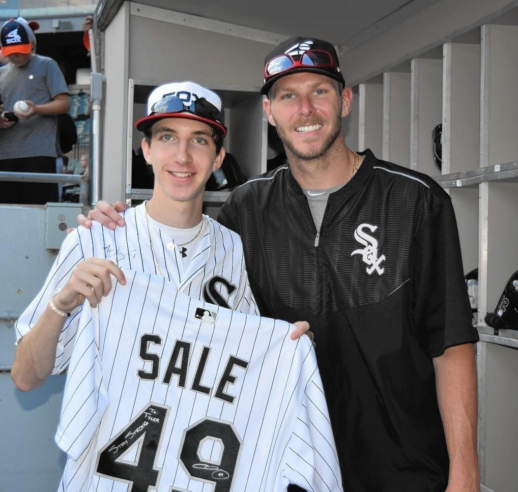 Some Opening Day Baseball Fun From Ace Of: White Sox Ace Sale Helps High School Pitcher Nearly Killed