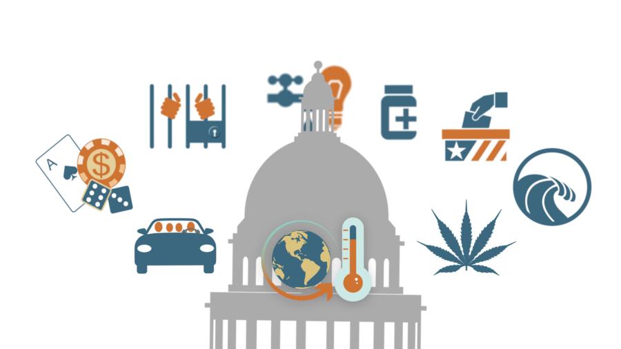 California Legislature issue tracker 2016