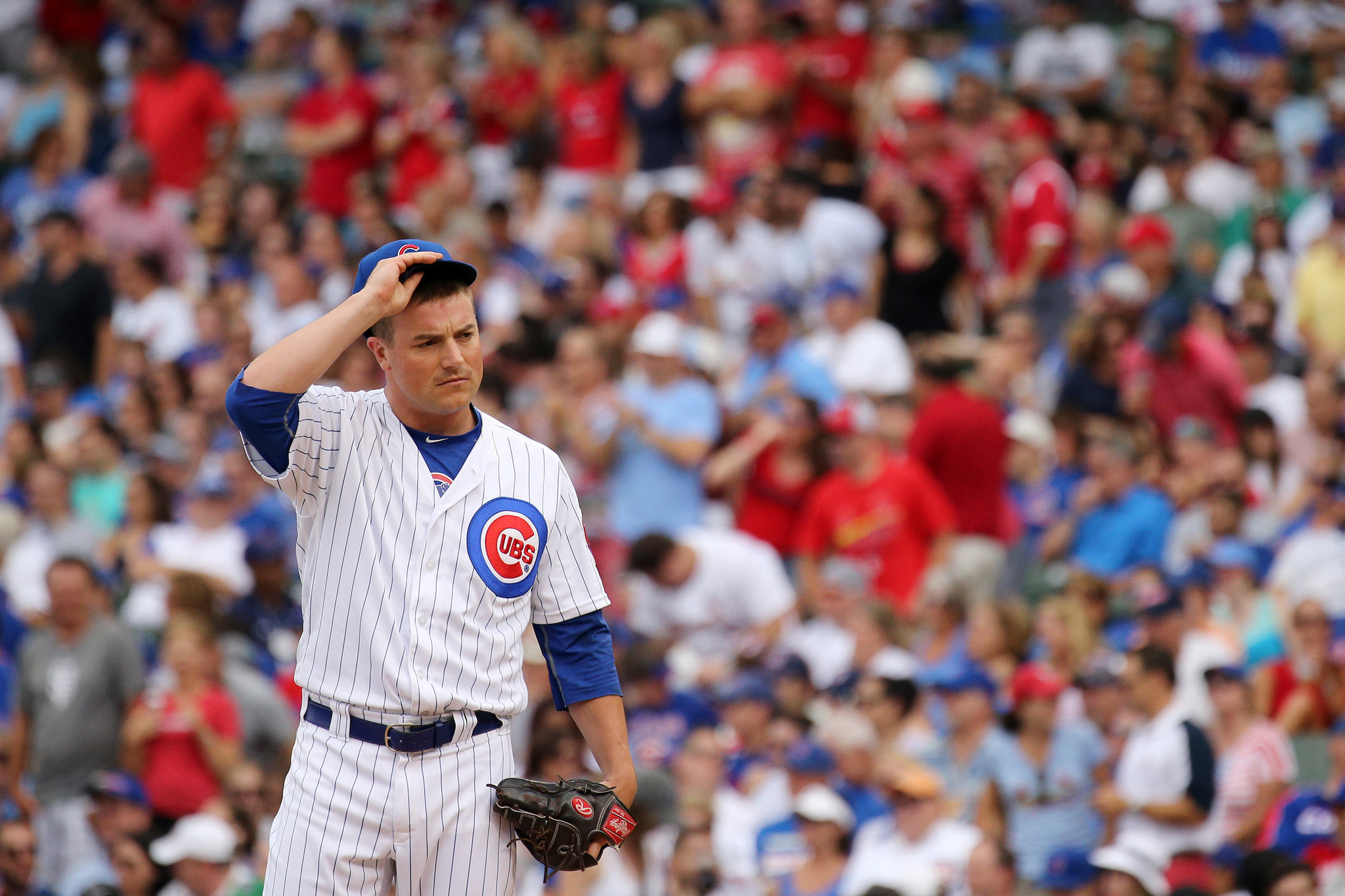 Grand slam accentuates reliever Joe Smith s rough start with Cubs