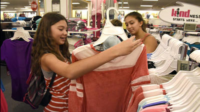 Carroll County takes advantage of tax-free week with back-to-school shopping