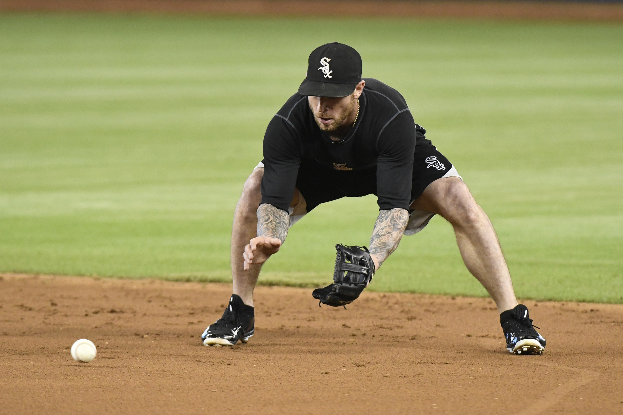 White Sox second baseman Brett Lawrie heads out on rehab assignment