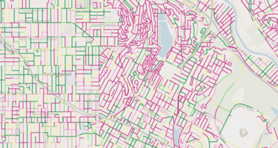 L.A.'s street quality grades map