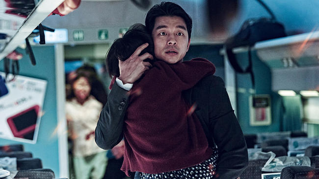 Bilderesultat for train to busan pics