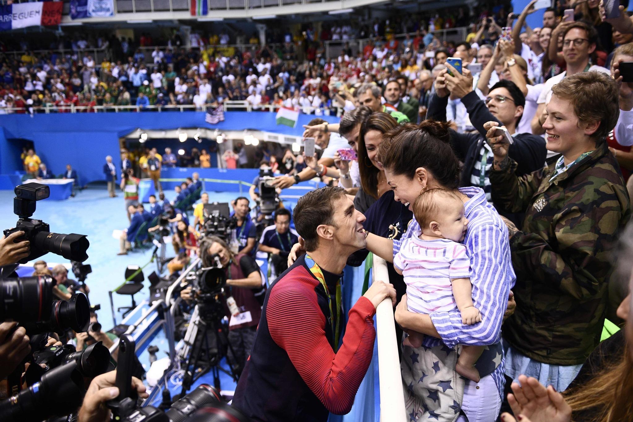 Michael Phelps Nicole Johnson Baby