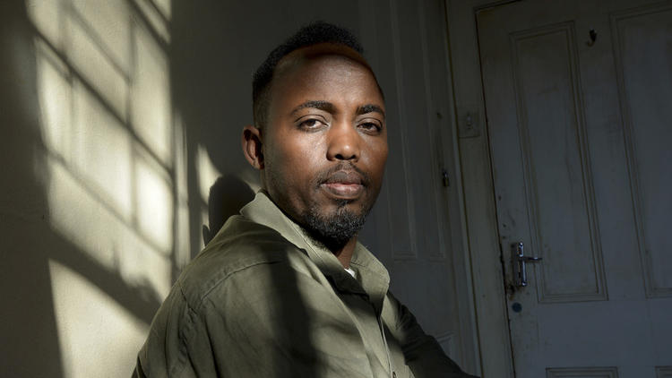 Suleiman Hussein, 32, chairman of the Pretoria branch of the Somali Community Board of South Africa. He fled southern Somalia in 2002, after his mother and younger brother were killed in crossfire between warring warlord factions. His father was killed by a terrorist group.