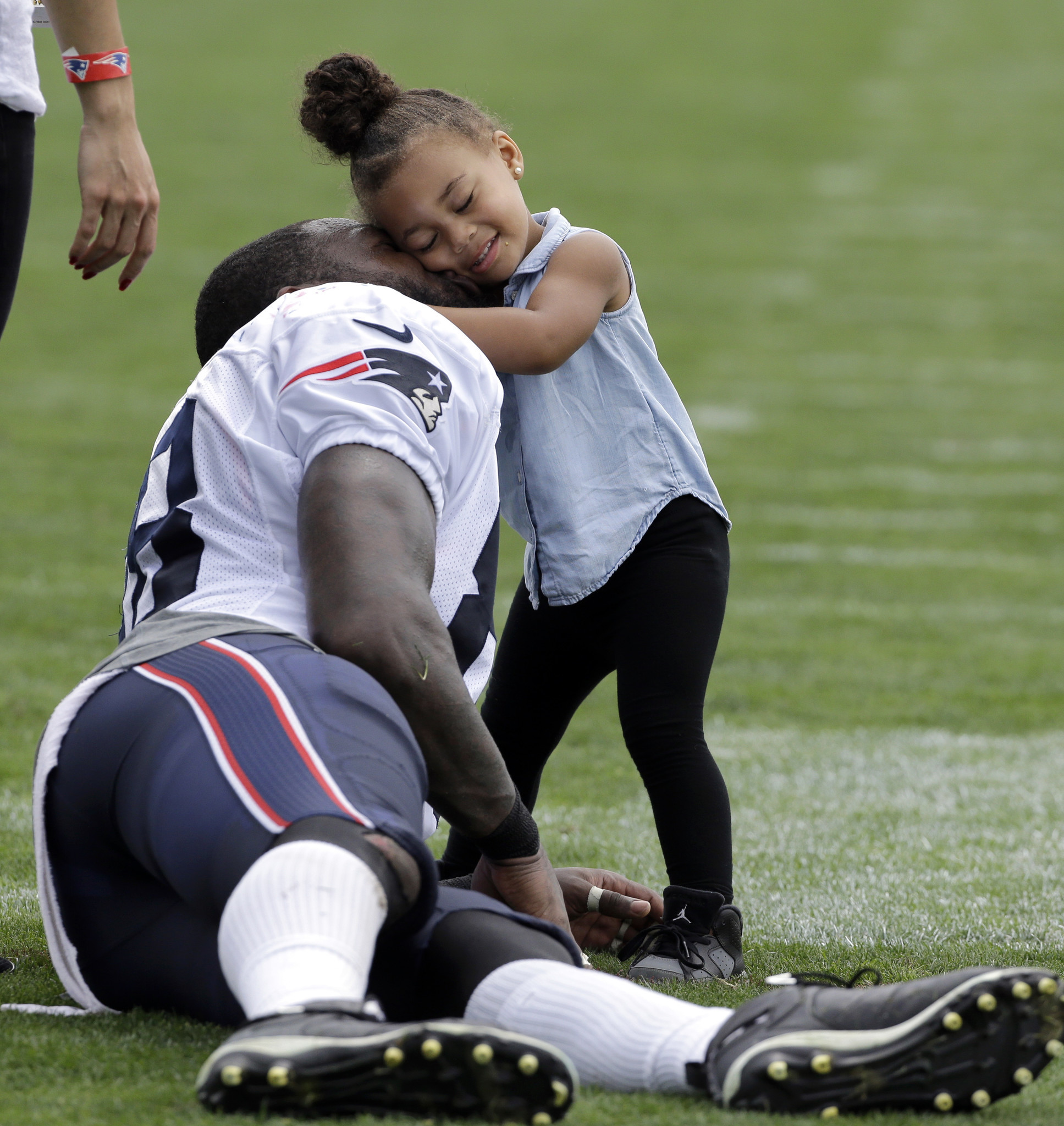 Happily ever after Martellus Bennett mum on his reunion with