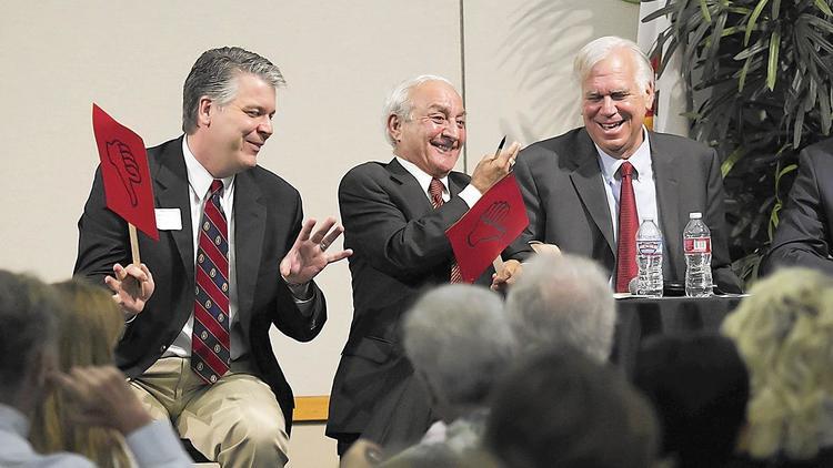 Lee Lowrey, Fred Ameri and Phil Greer
