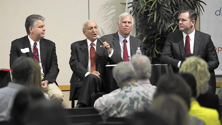 Lee Lowrey, Fred Ameri, Phil Greer and Will O'Neill