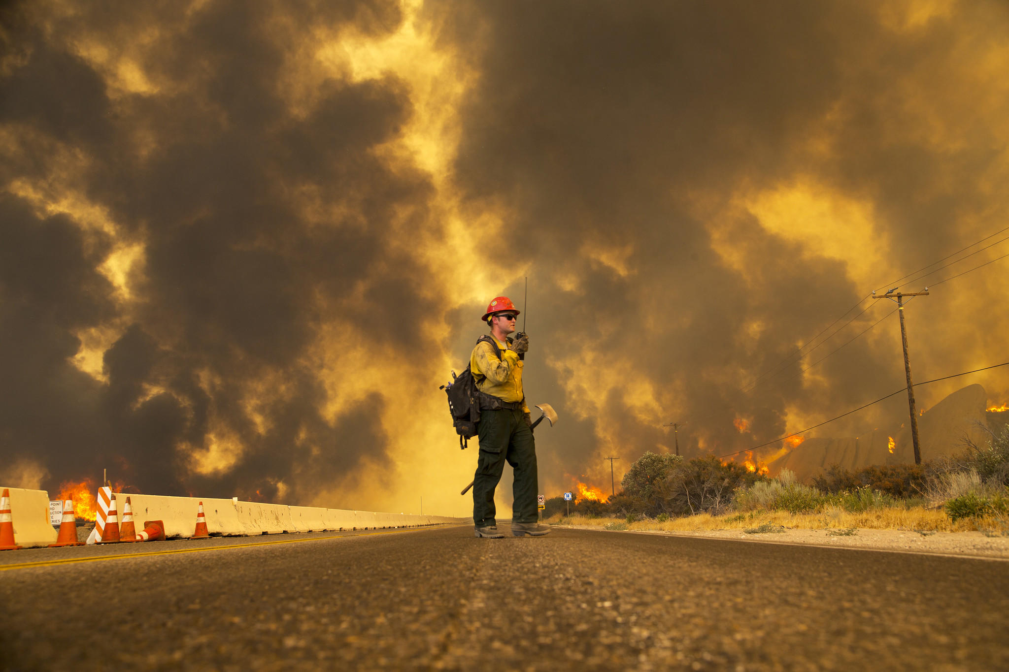 18,000 acres Burning AND 82,000 people told to Evacuate in California!  La-me-blue-cut-fire-photos-20160816-002