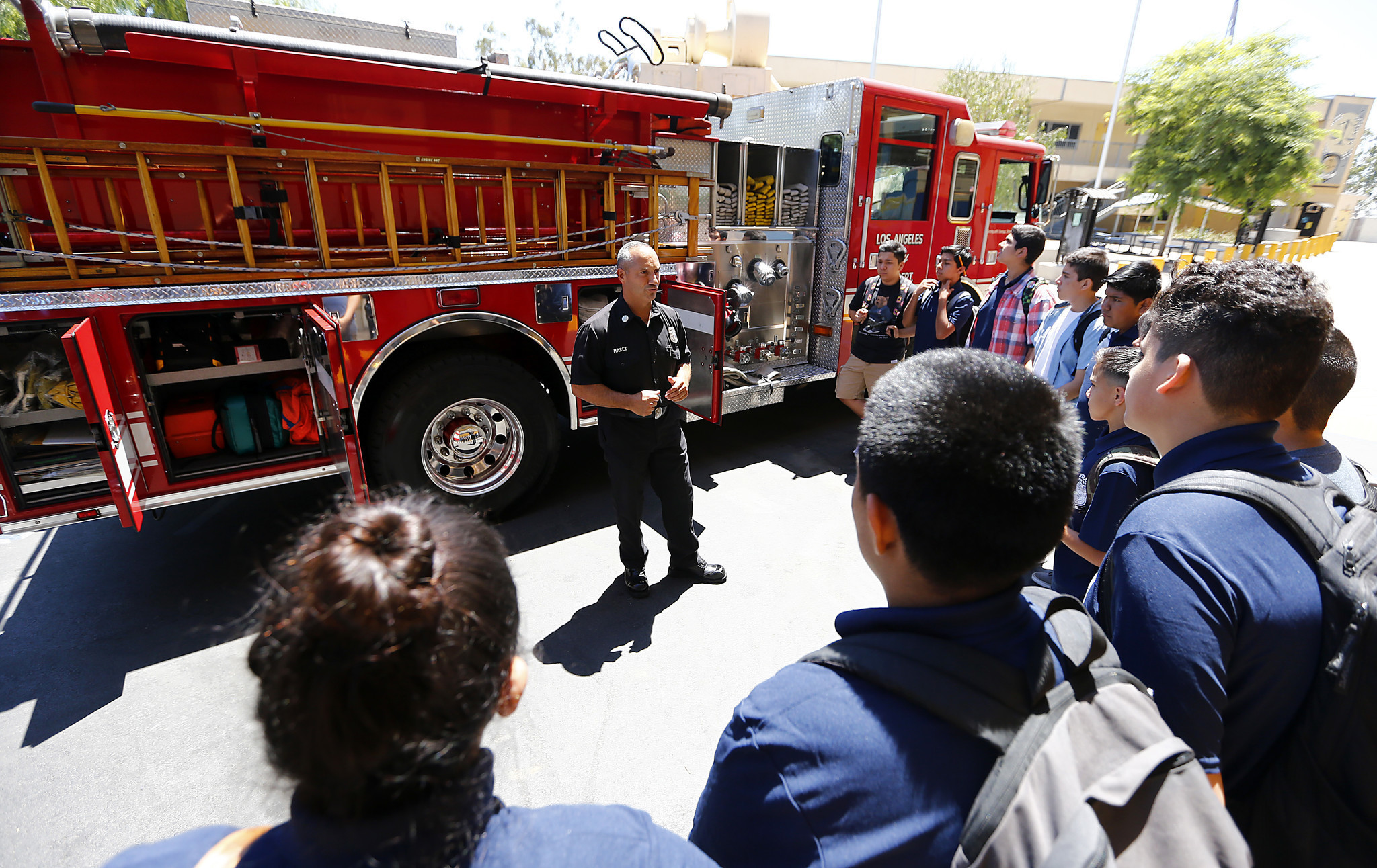 can two new l a high schools make fire departments more diverse can two new l a high schools make fire departments more diverse la times