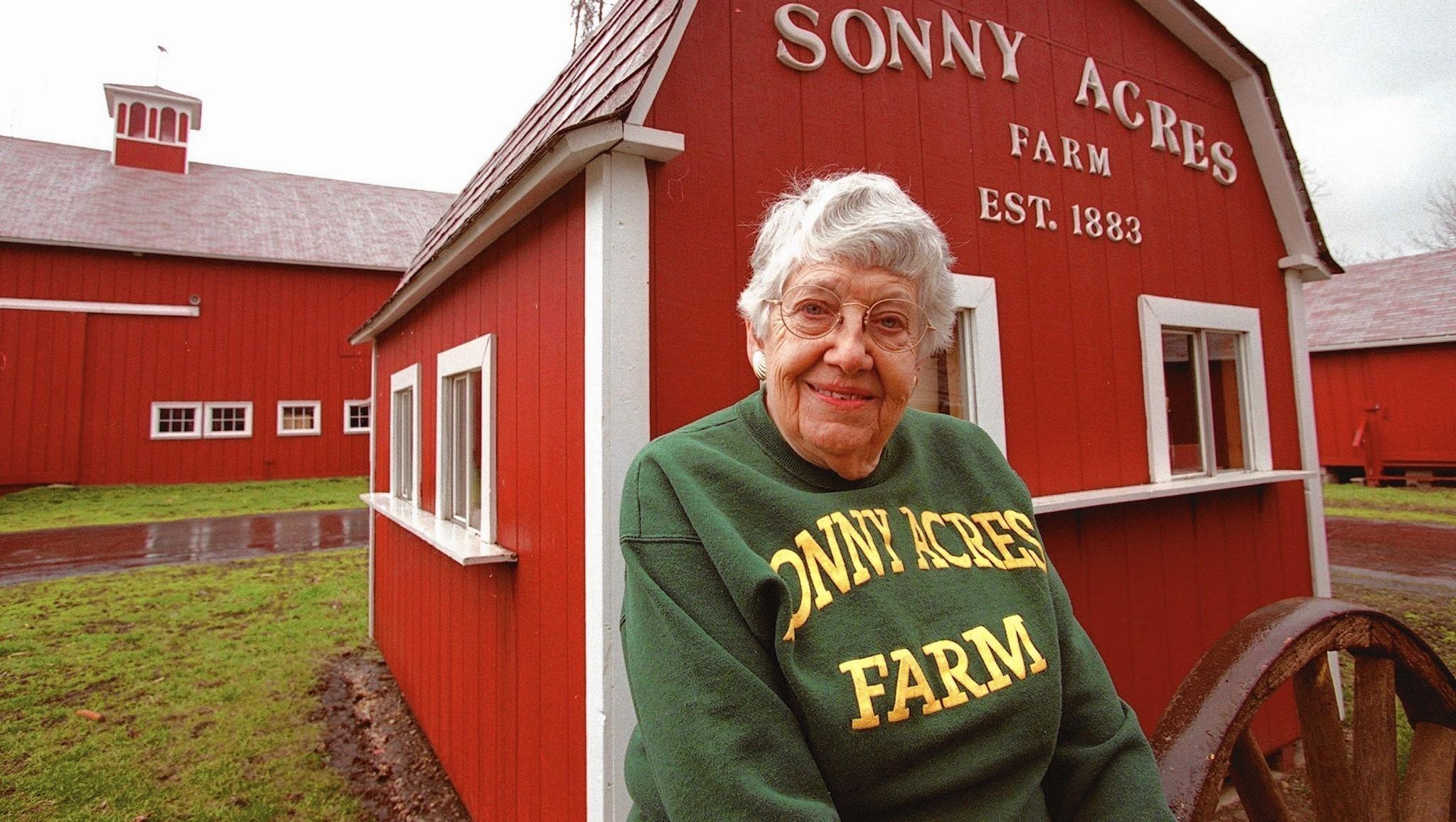 Ramona Nagel Feltes, proprietor of Sonny Acres Farm, dies at 98 ...