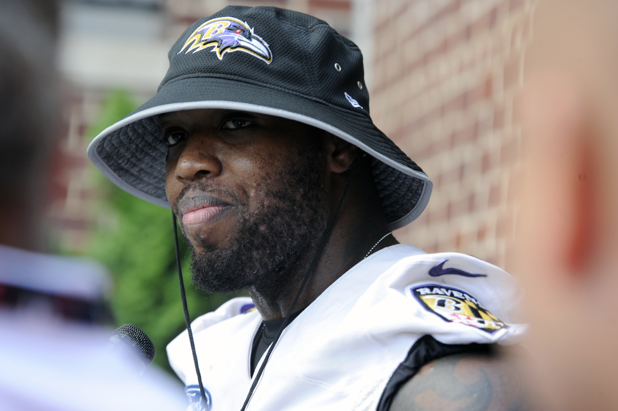 Slimmed down Terrell Suggs says he s back where he belongs