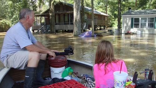 Did our house survive? Families affected by flooding in Louisiana hope for the best