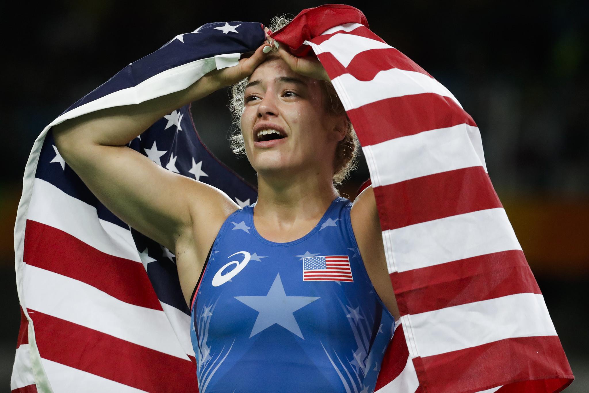 Women wrestling tgp olympics