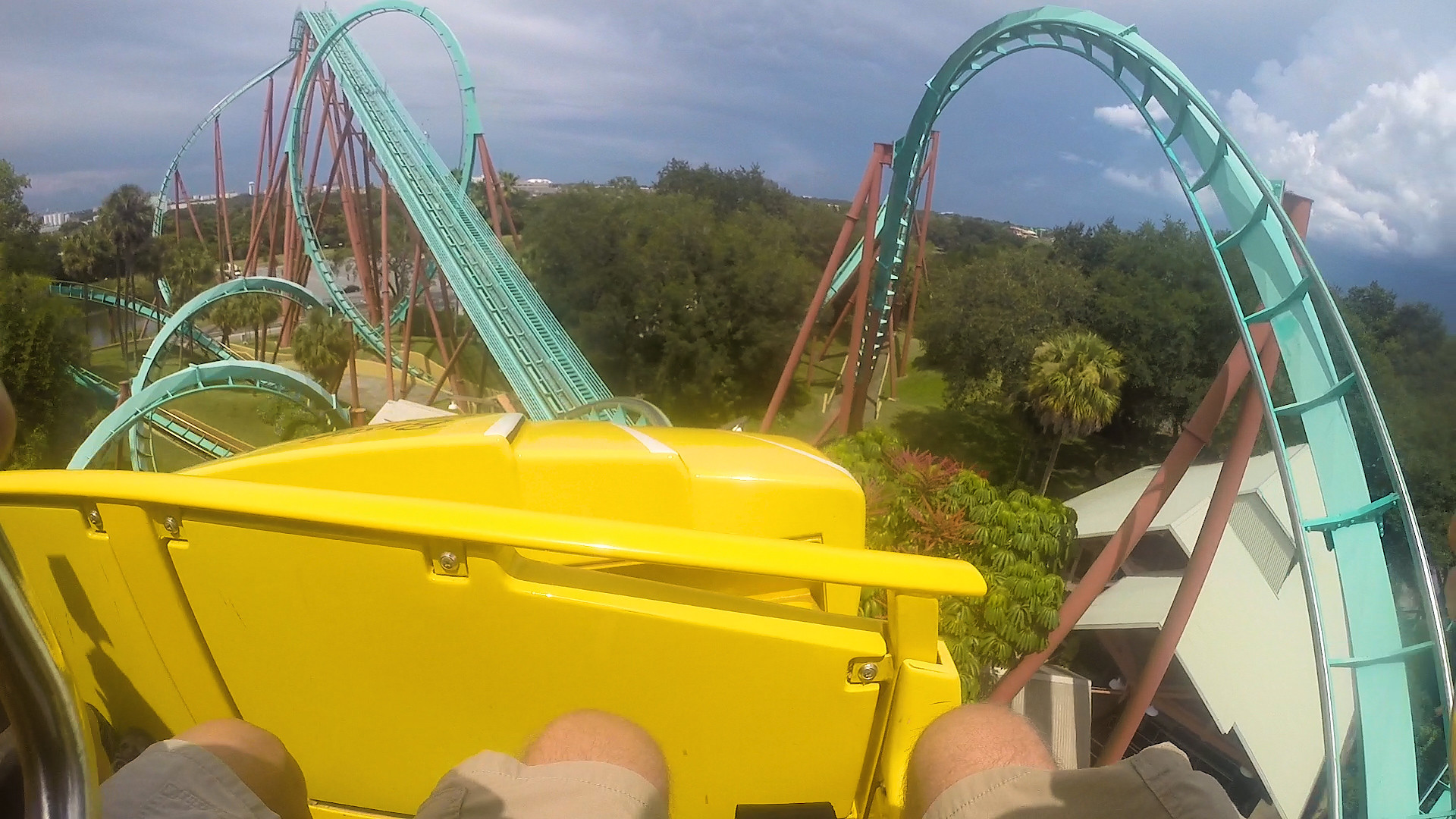 First Person View Kumba Roller Coaster At Busch Gardens Orlando Sentinel