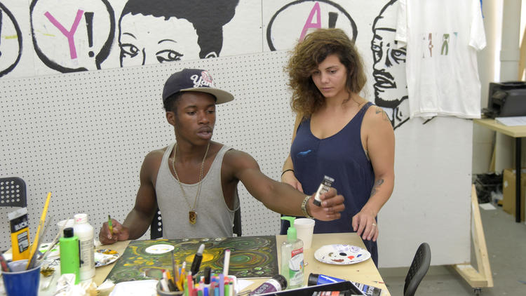 Helping teens through arts programs
