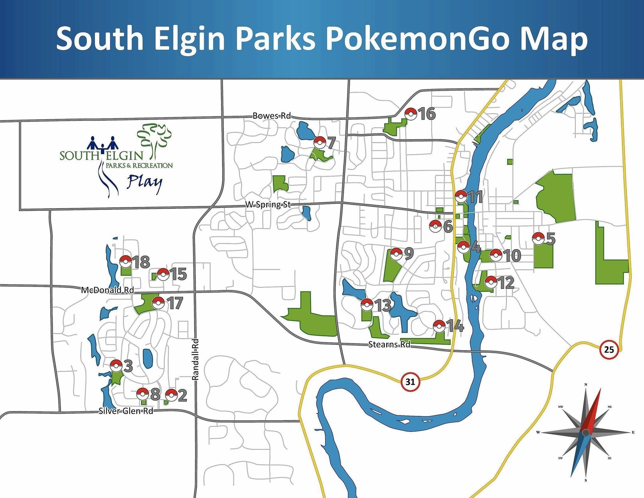S Elgin parks play Pokemon Go too Elgin CourierNews
