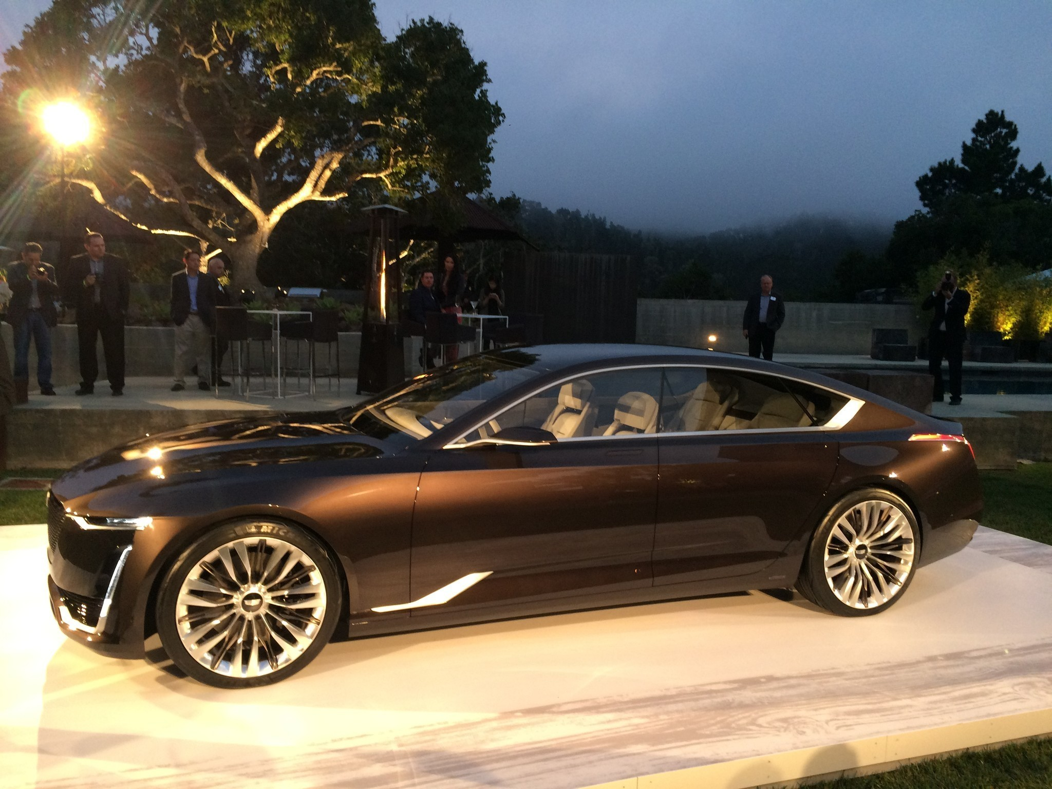 pebble beach 2016 cadillac and mercedes unveil concept. Cars Review. Best American Auto & Cars Review