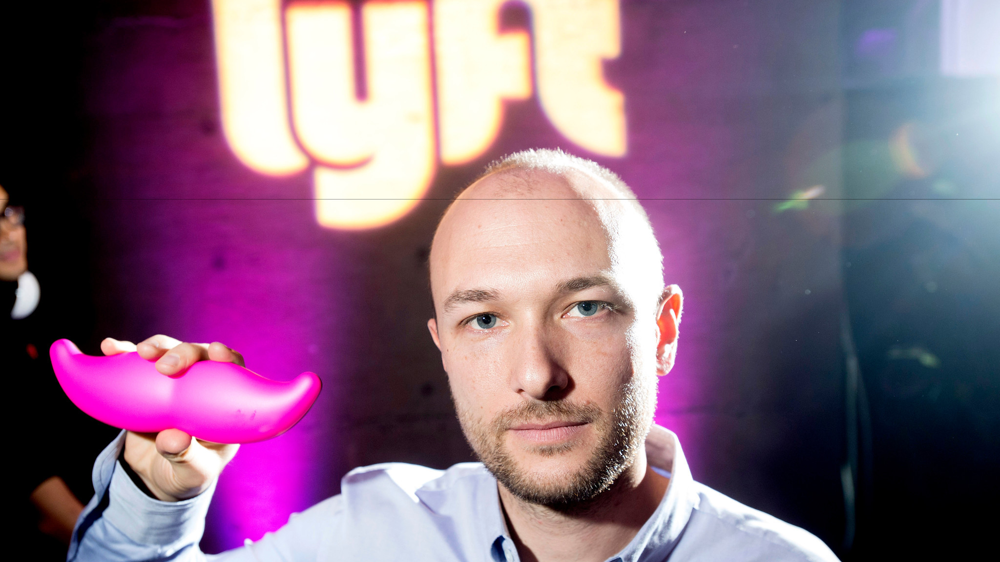 Logan Green, co-founder and chief executive of Lyft, in January 2015.